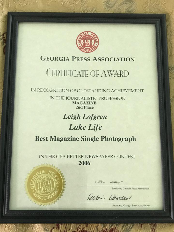 GA Press Awards 2019